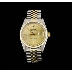 Mens Two-Tone Rolex Datejust Watch