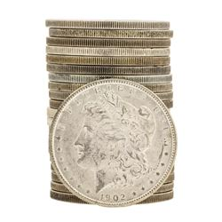 Roll of (20) Brilliant Uncirculated Assorted Date $1 Morgan Silver Dollar Coins