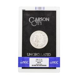 1880-CC $1 Morgan Silver Dollar Coin NGC MS64 GSA
