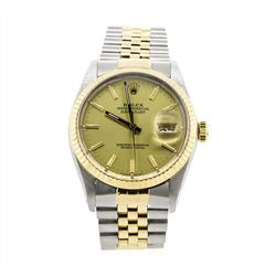 Men's Two-Tone Rolex Datejust Watch
