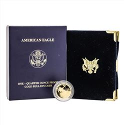 2007 1/4 oz. American Gold Eagle Proof Coin