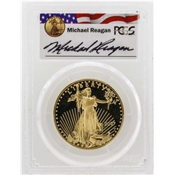 2007-W $50 American Gold Eagle Proof Coin PCGS PR69DCAM Reagan Legacy Series