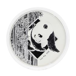 2016 China Bamboo Panda Hawaii Silver Coin HSNA w/ COA