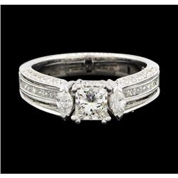 18KT White Gold 1.62ctw Diamond Ring