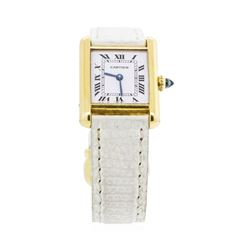 Ladies Cartier 18KT Yellow Gold Tank Louis Wristwatch