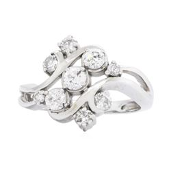 14KT White Gold 0.85ctw Diamond Ring