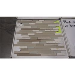 "12"" X 12"" GLASS MOSAIC - DM - 004, 60 PCS"