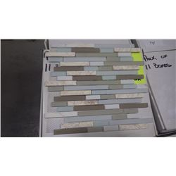 "12"" X 12"" GLASS MOSAIC DM-005, 60 PCS"
