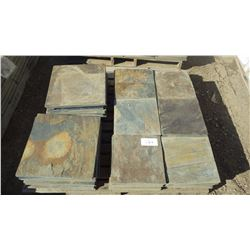 "12"" X 12"" X 3/8"" NEW TERRACOTTA CALIBRATED PAVERS, 66 PCS; 16"" X 16"" X 3/8"" NEW TERRACOTTA PAVERS 4"