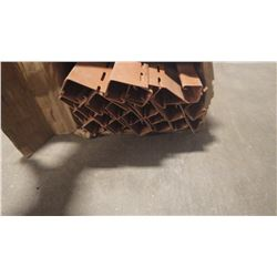 CERTAINTEED 3/4 X 12' TERRACOTA  J CHANNEL 30 PCS