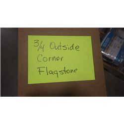 CERTAINTEED 3/4 X 10' FLAGSTONE OUTSIDE CORNERS 10 PCS