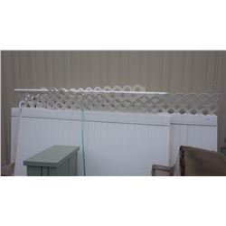 BROOK HAVEN FENCE PANELS 6' X 8' 4 PCS