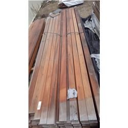 "2"" X 4"" X 12' TIGER WOOD 93 PCS"