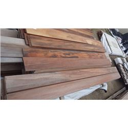"TIGER WOOD DECKING 4/4 X 6"" X 6' 60 PCS, TIGER WOOD DECKING 4/4 X 6"" X 8' 61 PCS"