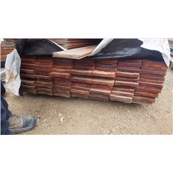 "TIGER WOOD DECKING 4/4 X 6"" X 8' 128 PCS"