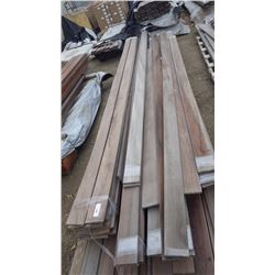 "TIGER WOOD DECKING 4/4 X 6"" X 12' AND 16' 68 PCS"