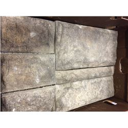 2 BOXES OF CASTLE ROCK FLINT RIDGE FLATS AND 10 BOXES OF CORNERS