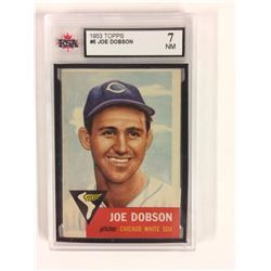 1953 TOPPS #5 JOE DOBSON (7 NM) KSA