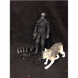 "SIDESHOW G.I. Joe SNAKE EYES & TIMBER 12"" 1/6 Scale Figure Wolf Cobra Ninja"