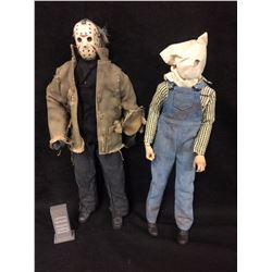 SIDESHOW COLLECTIBLES JASON & JASON PART II ACTION FIGURES