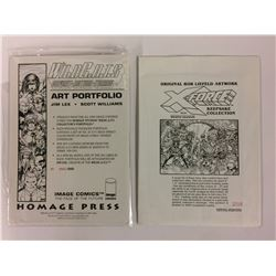 WildC.A.T.S. Collectors Art Portfolio 1542/5000 (1992) Jim Lee, Scott Williams & ROB LIEFELD ART