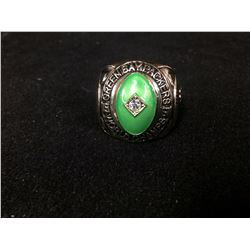 GREEN BAY PACKERS AAA REPLICA SUPER BOWL RING (WEIGHS APPROX 3 OUNCES)