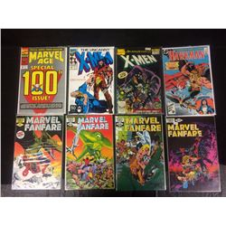 COMIC BOOK LOT (MARVEL FANFARE, X-MEN, HAWKMAN)