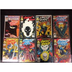 GHOST RIDER COMIC BOOK LOT (#15, 11, 23, 14 & MORE..)