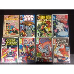 COMIC BOOK LOT  (LOIS LANE, IRON MAN, SILVER SURFER)