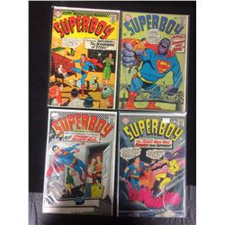 SUPERBOY COMIC BOOK LOT (#134, 137, 132, 142)