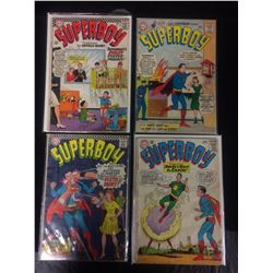 SUPERBOY COMIC BOOK LOT (#133, 105, 121)