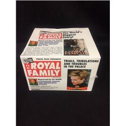THE ROYAL FAMILY 48 Pack TRADING CARD SET Volume 1 1993 Edition PressPass