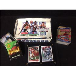 SPORTS TRADING CARDS LOT (FOOTBALL, GOLF, BASKETBALL)