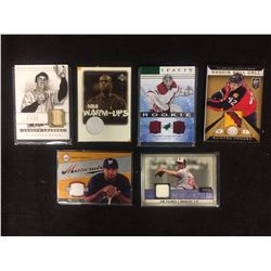 SPORTS TRADING CARDS LOT (CASE, LEE, PALMER & MORE...)