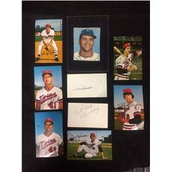 BASEBALL PICTURE CARDS LOT