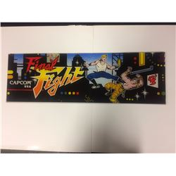 ARCADE GAME GLASS (FINAL FIGHT)