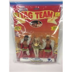 REMCO AWA 3-PACK OFFICIAL ALL-STAR WRESTLERS TAG TEAM ACTION FIGURES
