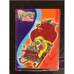 LIMITED EDITION THE GRINCH STOLE CHRISTMAS TRADING CARD (153/750) AUTO