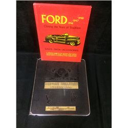 VINTAGE FORD AUTOMOTIVE SERVICE GUIDES LOT