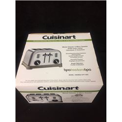 CUISINART METAL CLASSIC 4 -SLICE TOASTER (IN BOX)