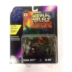 VINTAGE 1996 Kenner Star Wars Shadows of the Empire BOBA FETT