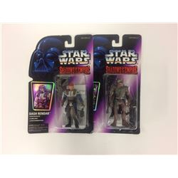 1996 Star Wars Chewbacca & Dash Rendar Shadows of the Empire figures