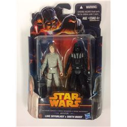 STAR WARS MISSION SERIES FIGURES (LUKE SKYWALKER & DARTH VADER)