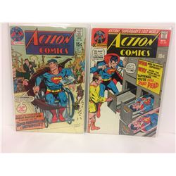 ACTION COMICS (#396, 399) DC
