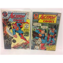 ACTION COMICS (#398, 397) DC