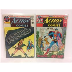 ACTION COMICS (#395, 394) DC