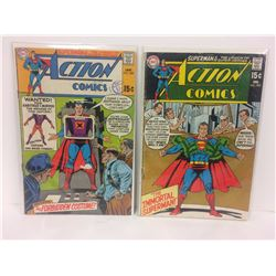 ACTION COMICS (#384, 385) DC