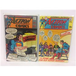 ACTION COMICS (#380, 386) DC