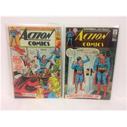 ACTION COMICS (#388, 391) DC