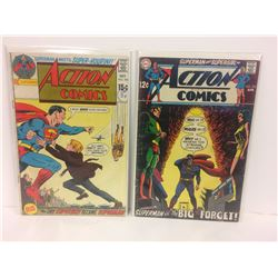 ACTION COMICS (#393, 375) DC